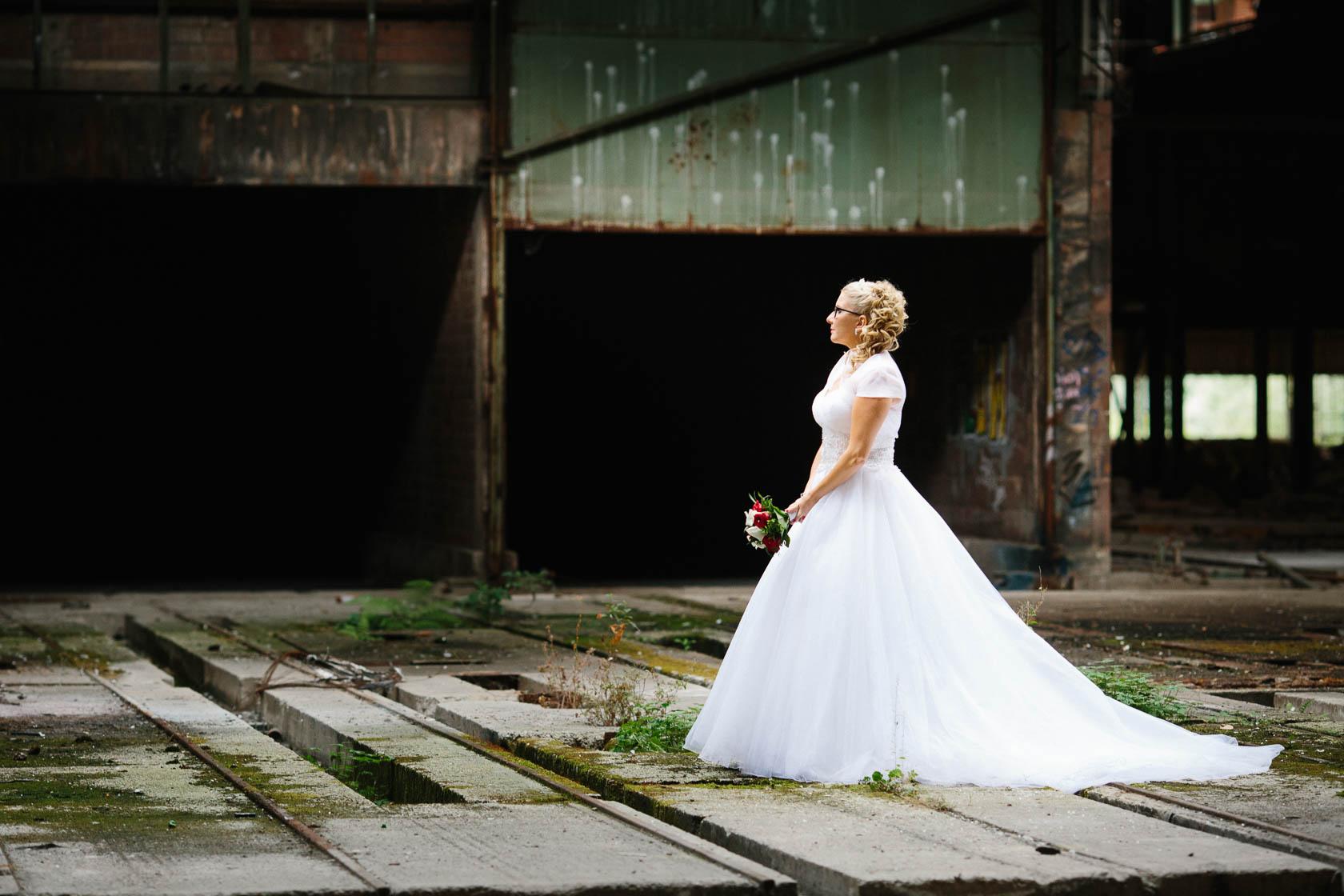 After Wedding Shoot Eileen und Christoph Hochzeitsfotos Alte Fabrik Raum Mannheim