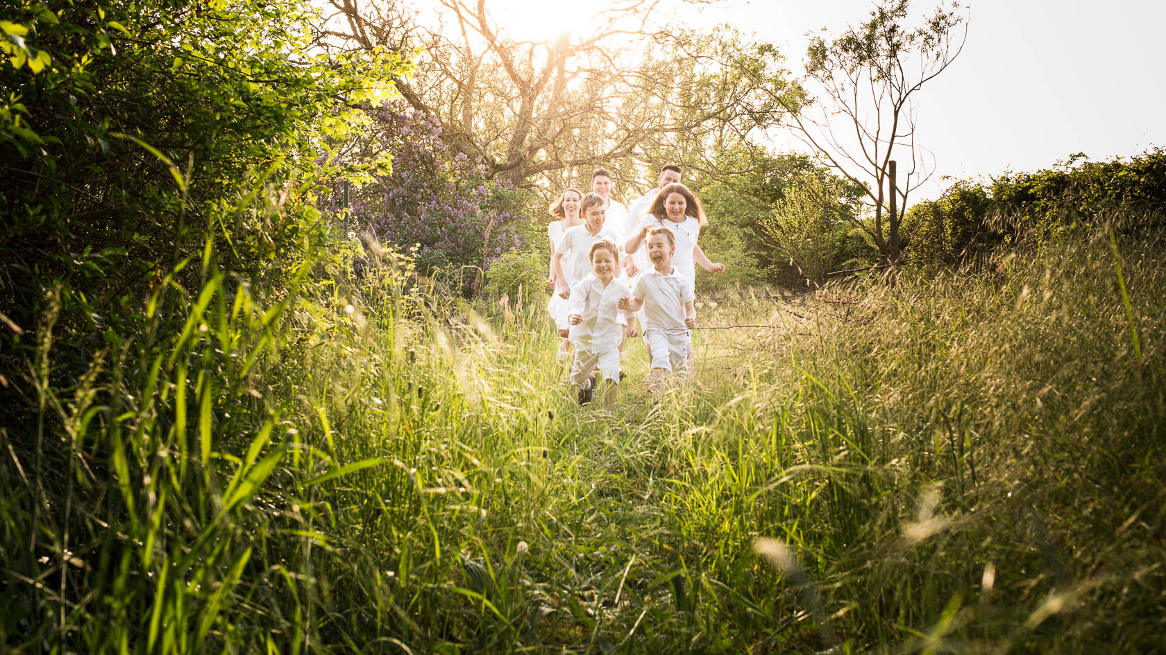 Familienfotos von Familie Koepp und Familie Collet in Kirrlach