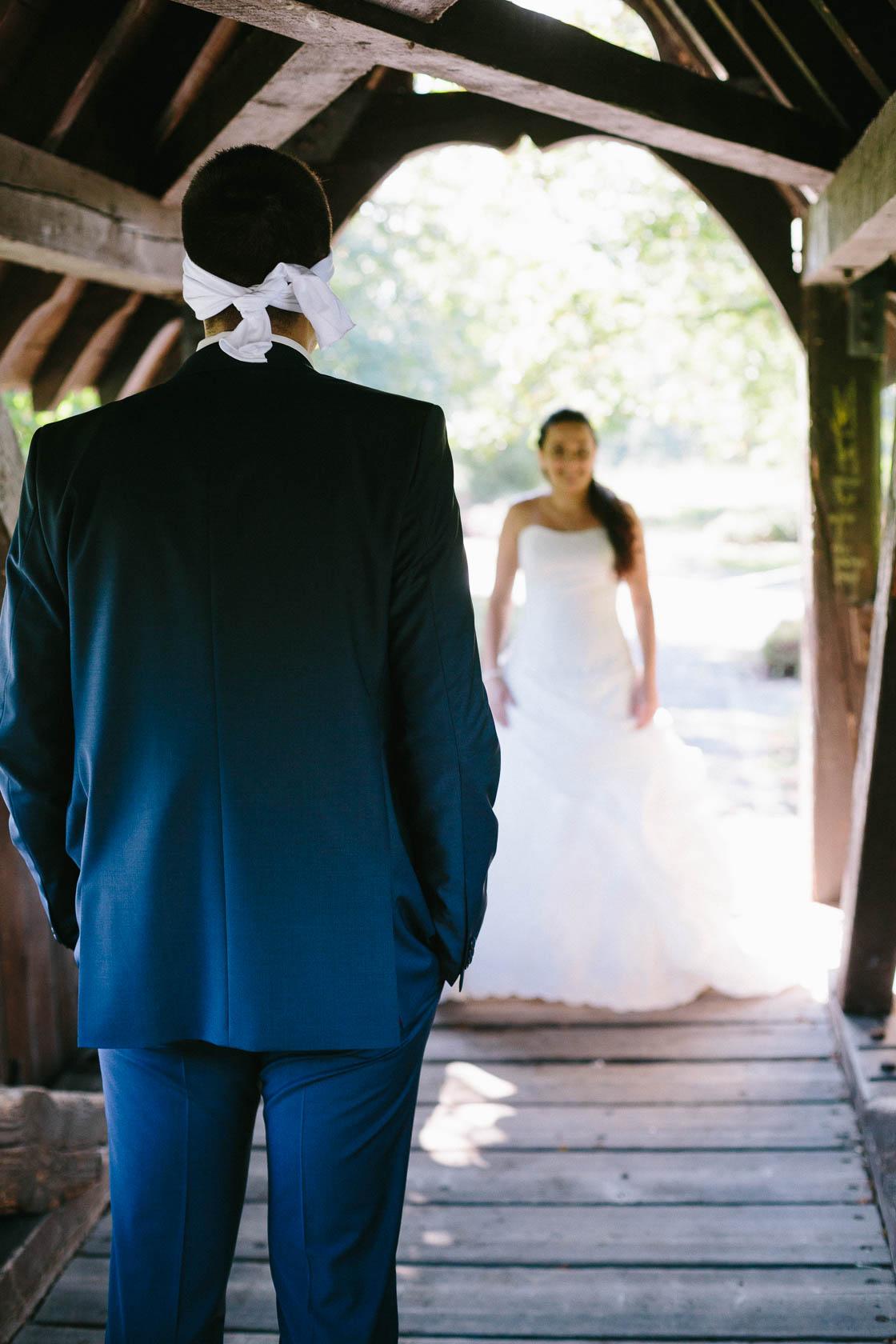 Wann sollen wir denn am Hochzeitstag die Paarfotos machen First Look
