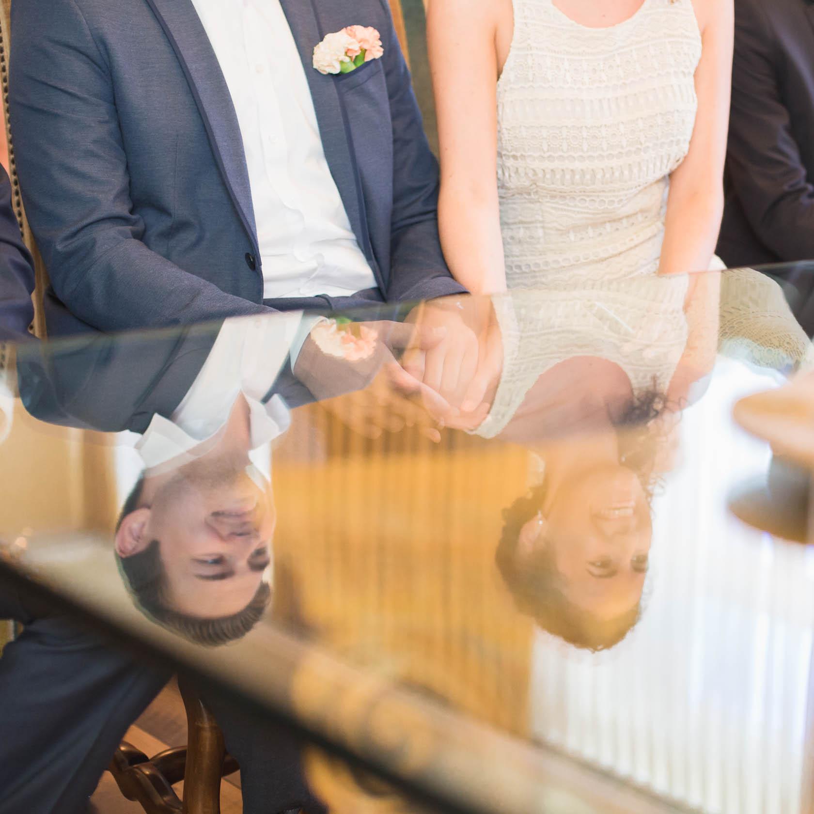 Standesamtliche Trauung von Fabienne und Manuel in Wiesloch Standesamt Wiesloch Braut und Bräutigam