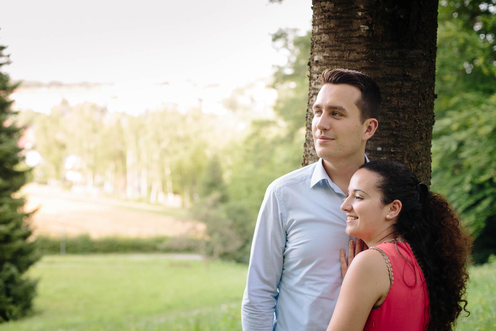 Engagement Fotoshooting von Laura und Viktor in Karlsbad