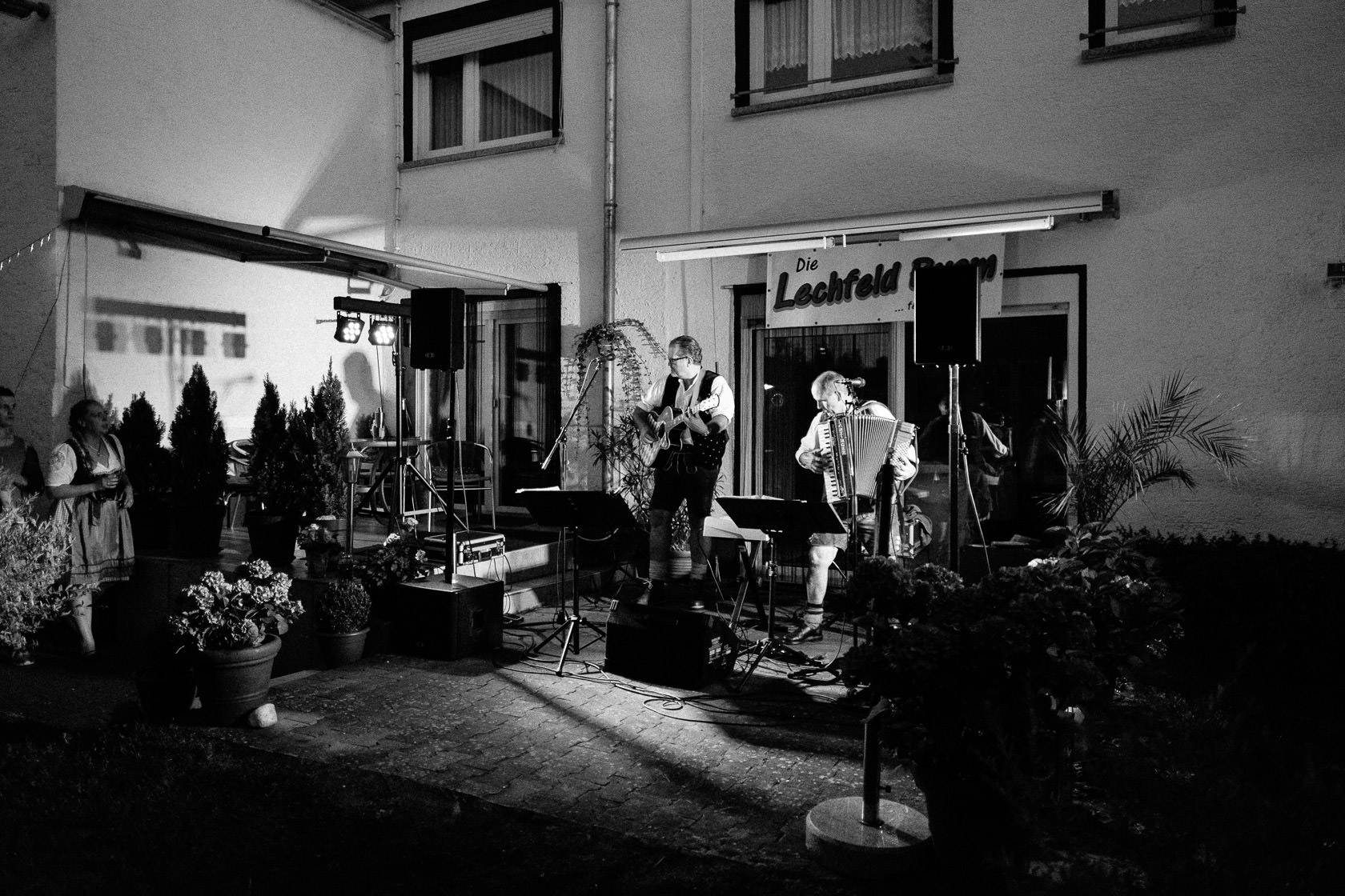 Bayrischer Polterabend in Norheim an der Nahe Alex und Jasmin Musik und Tanz Volksmusik Lechfeld Buam