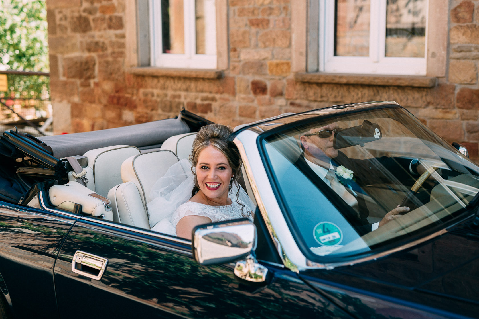 Blauweiße Hochzeit in Bad Kreuznach
