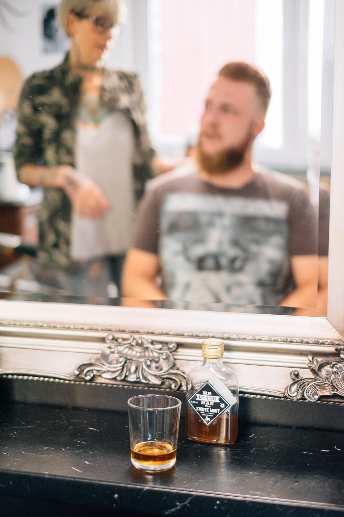 Boho Hochzeit in Waghaeusel Getting Ready Friseur Barber