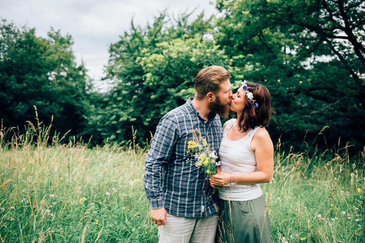 Engagement Shoot Michaelsberg bei Bruchsal Boho Style