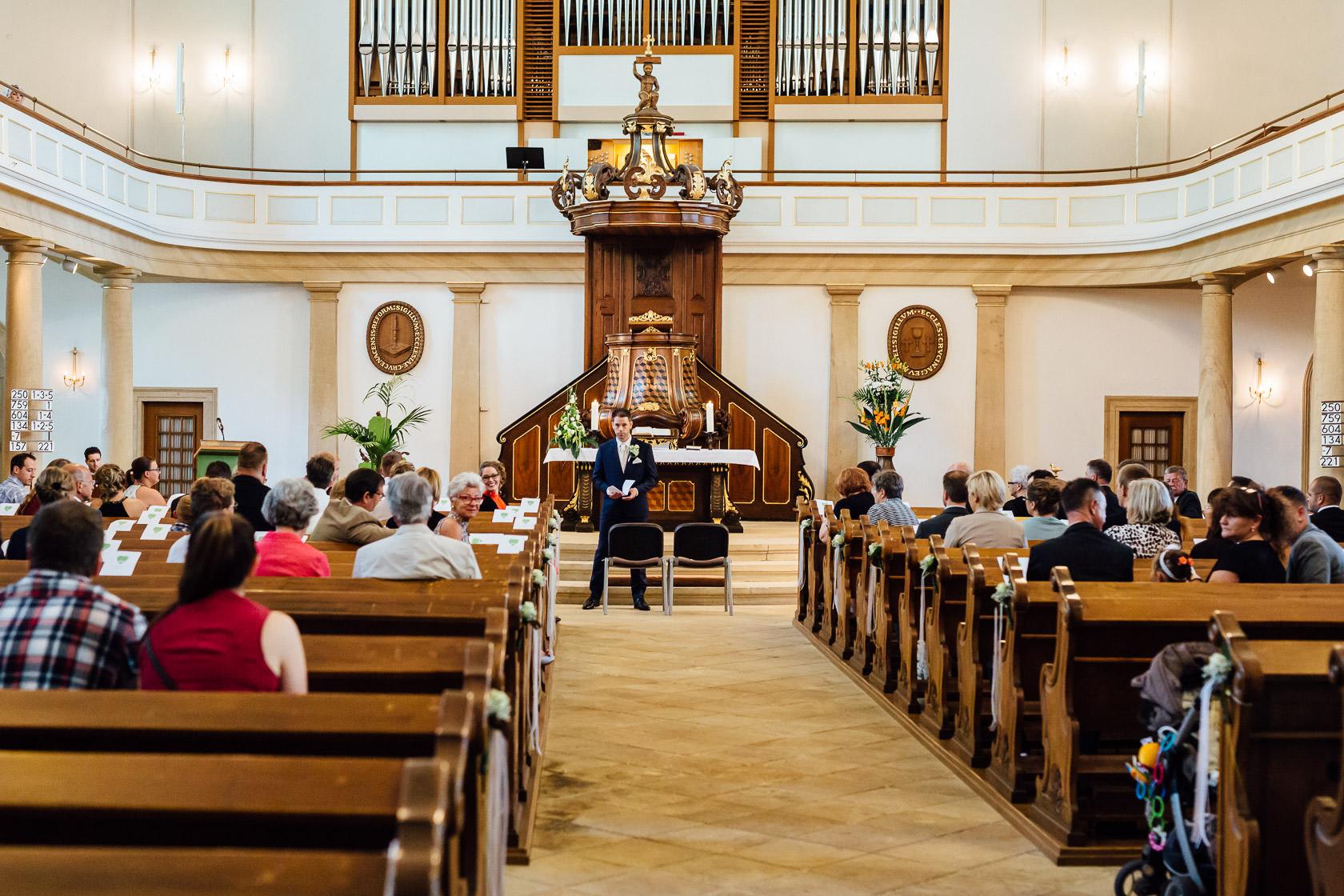 Warten auf die Braut in der Pauluskirche Bad Kreuznach