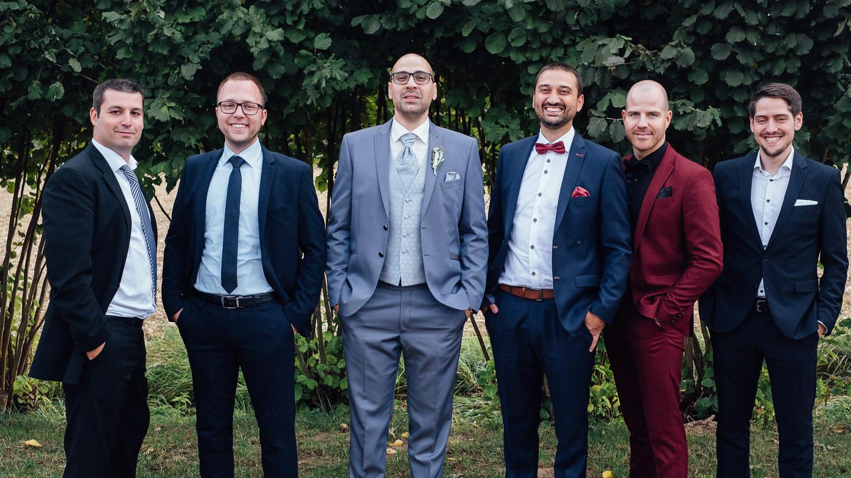 Hochzeitsfotograf Kraichgau Weingut Heitlinger Xenia und Florian Feier im Weingut Hochzeitsfeier