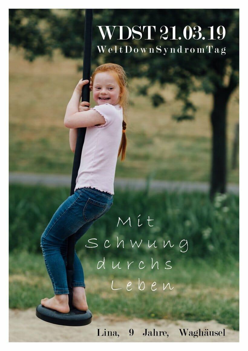Plakat Weltdownsyndromtag 2019