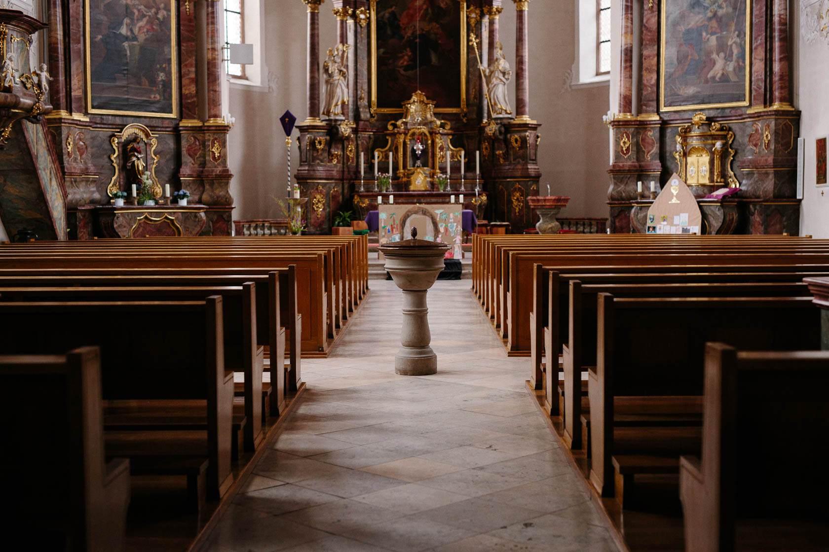 Taufe in Wiesloch