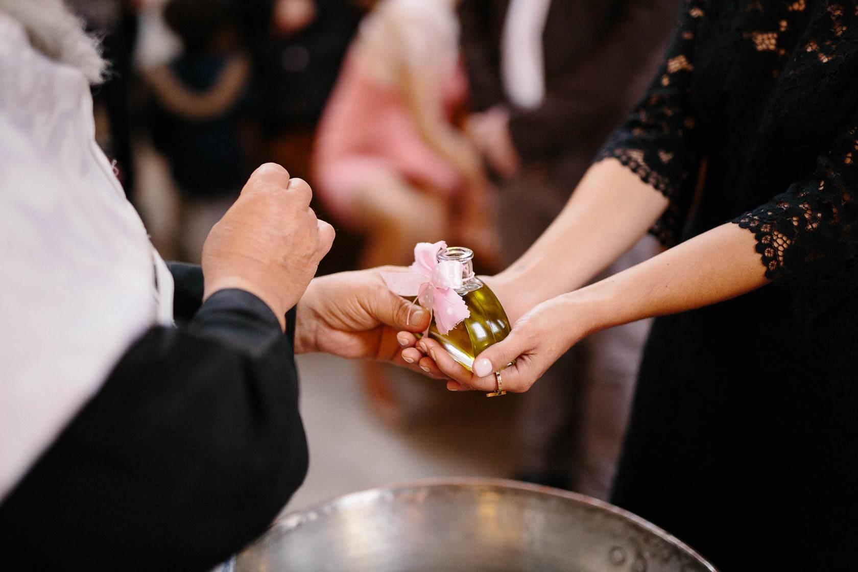 Grieschich-Orthodoxe Taufe in Wiesloch Freude Taufpatin