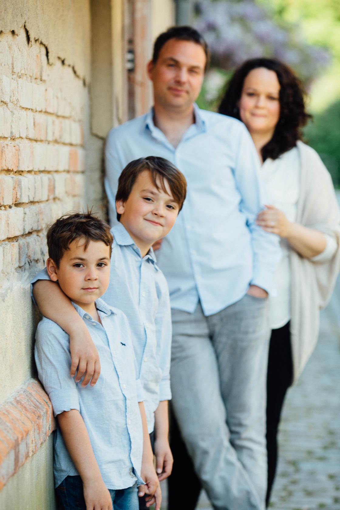Familienfotos in Speyer Spiel mit der Unschärfe